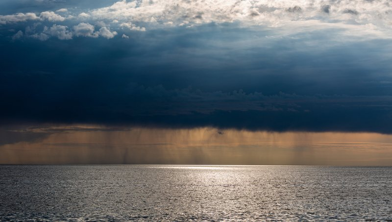 seascape,thunder,storm,blue,clouds,summer, Stormphoto preview