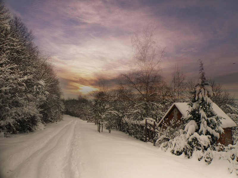 холодная дорогаphoto preview