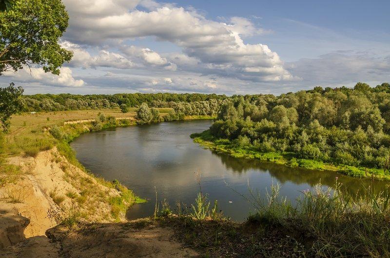 река десна ,вечер , красота Вечерняя Деснаphoto preview