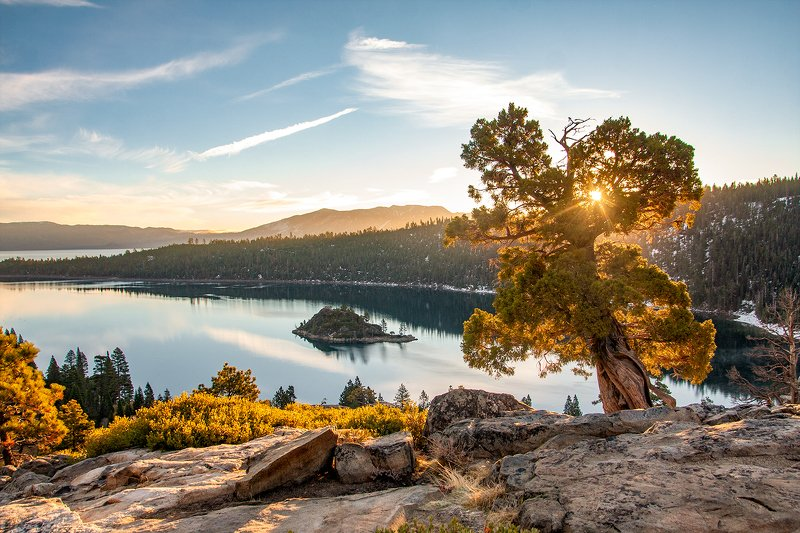 #nature#outdoors#trip#sunrise#usa#nevada Emerald Bay -Tahoe.photo preview
