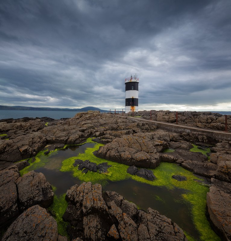 northern ireland, rathlin, lighthouse ***photo preview