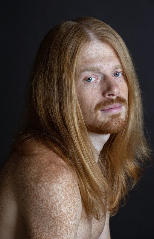 портрет рыжий Василийphoto preview