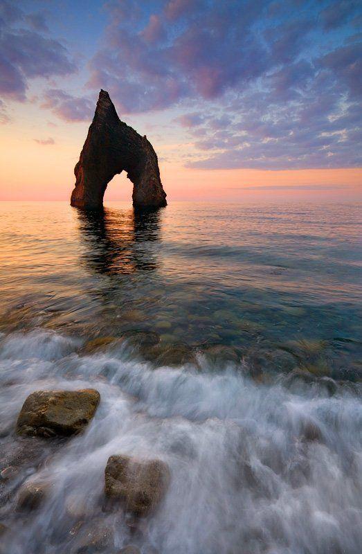 крым весна море скалы утро Pure Morning (color ver.)photo preview