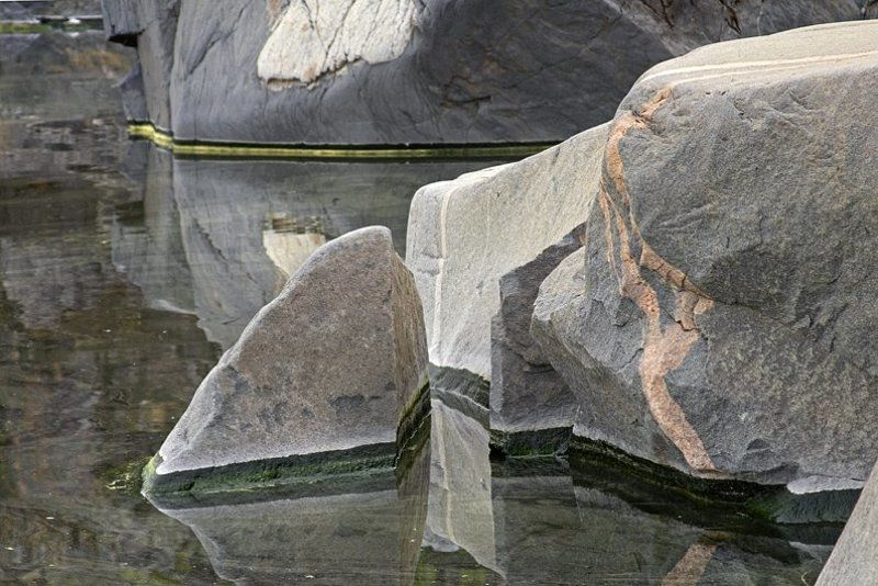ладога, хунукка, камни, вода Цветная геометрияphoto preview