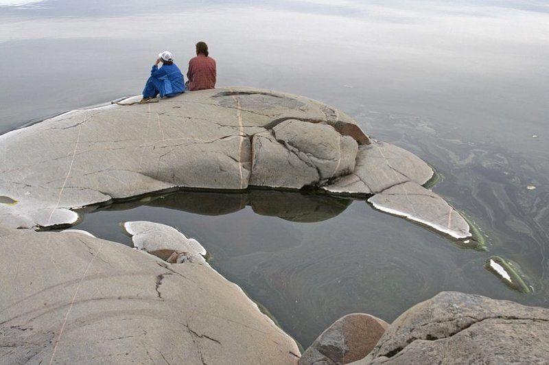 ладога, хунукка, камни, вода На краю мираphoto preview