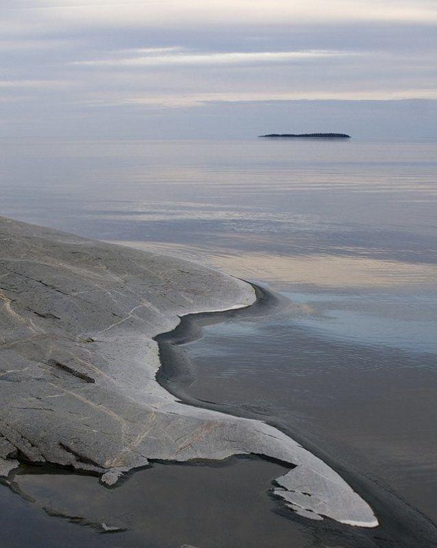 ладога, хунукка, камни, вода Нежность Большой водыphoto preview