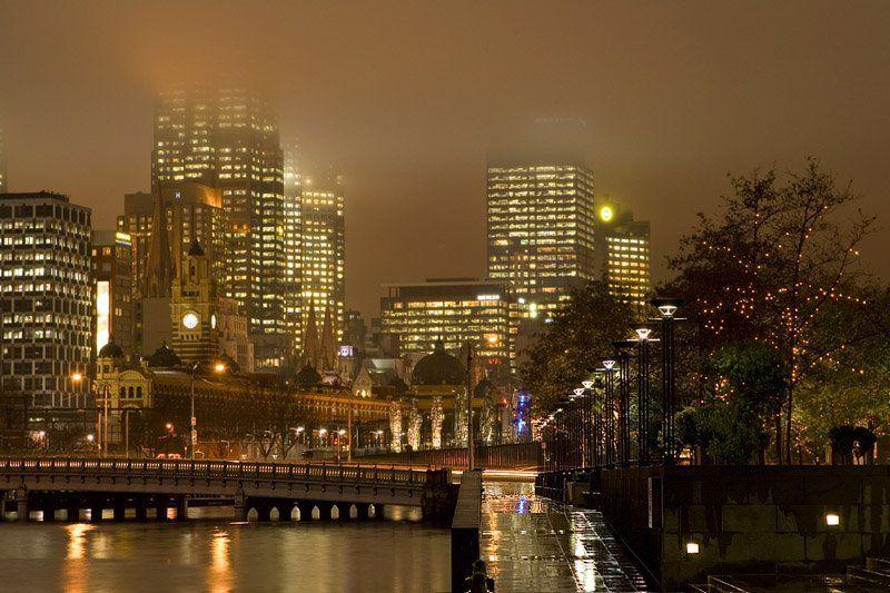 melbourne, australia, sunset, cityscape, southbank Melbourne, Southbankphoto preview