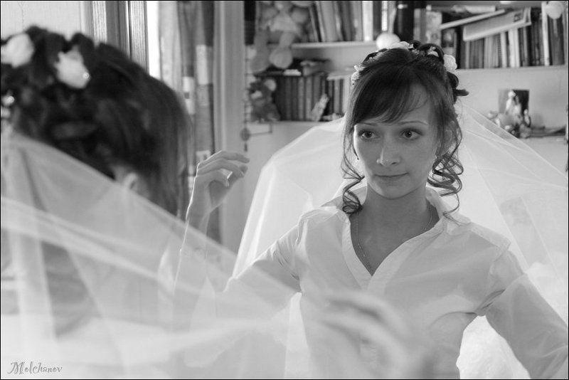 свадьба портрет У зеркалаphoto preview
