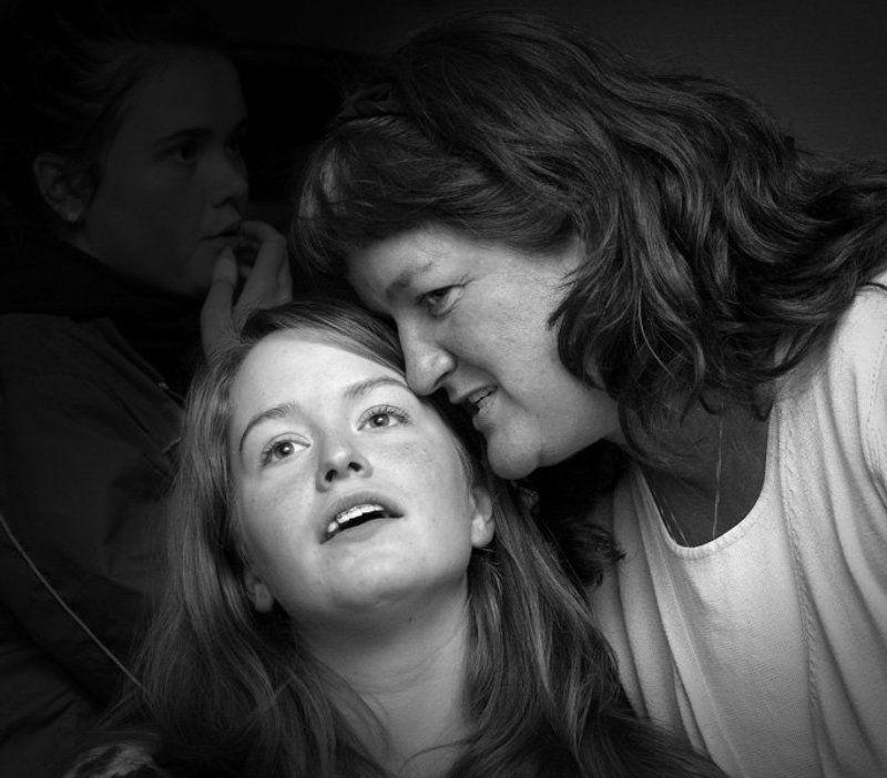 разговор, мама, дочь, photo preview