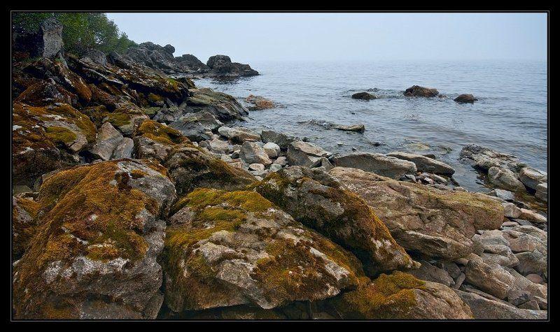 байкал, утро, туман, скалы,  i_go Утро седое...photo preview