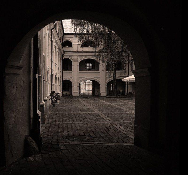 Итальянский дворик .photo preview