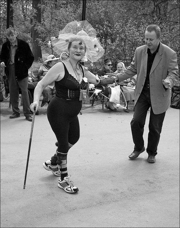 танцы, ретро, сокольники, Московское танго #3photo preview