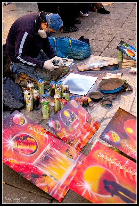 вена, улица, арт Уличный арт...photo preview