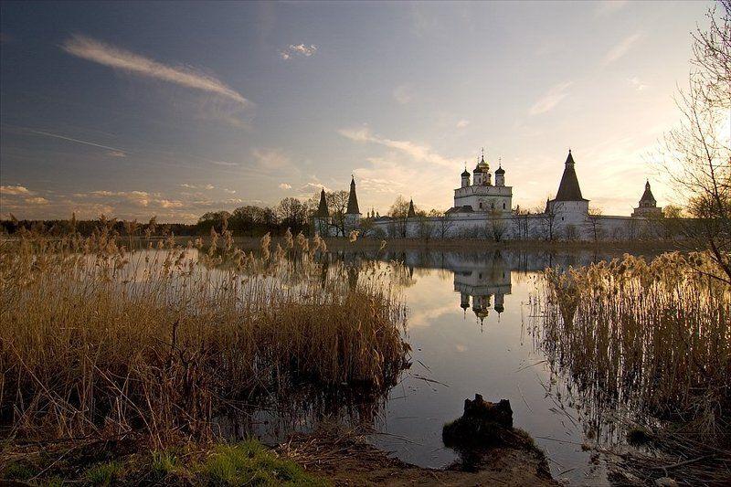 монастырь, пейзаж, природа, волоколамск, пасха, православие photo preview