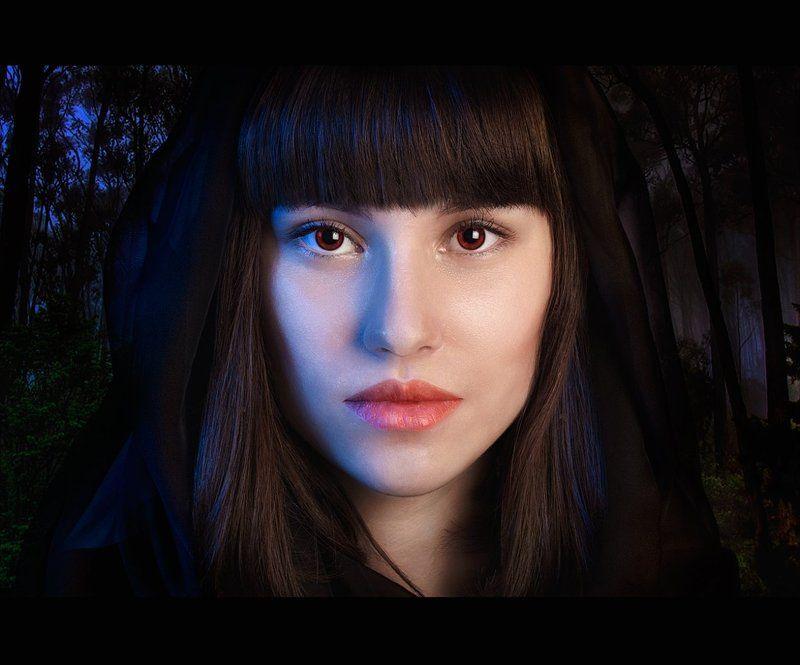 девушка,арт,фото,портрет,модель,лес,50mm,canon twilightphoto preview