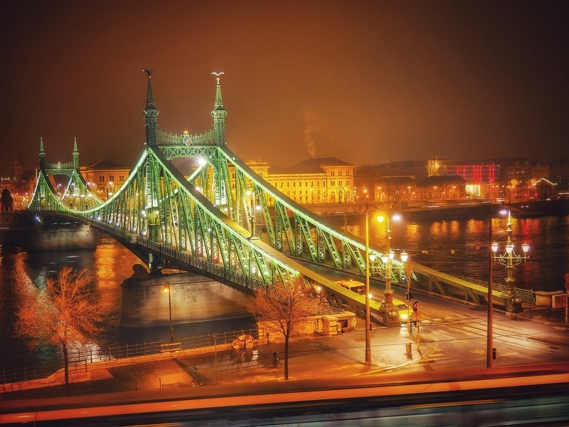 budapest, hungary, bridges, nightphotography, nightshots, night, danube river, europe, architecture, city, cityscapes, city life, night life, photography, artphotography, Budapest night...photo preview