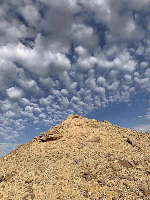 египет, пустыня, красота, облака В пустынеphoto preview