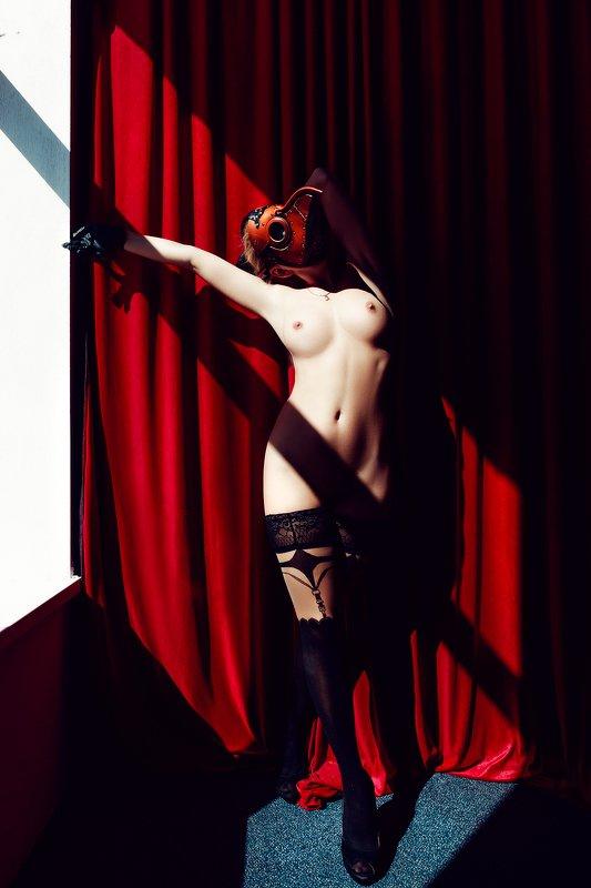 woman, nude, indoors, art, light The Plague Nursephoto preview