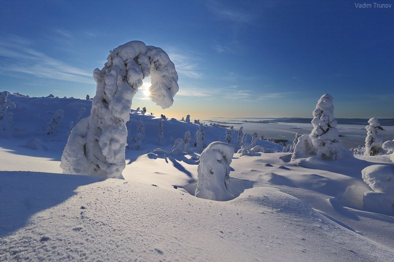 кольский, север, заполярье Зимняя сказка на Кольскомphoto preview