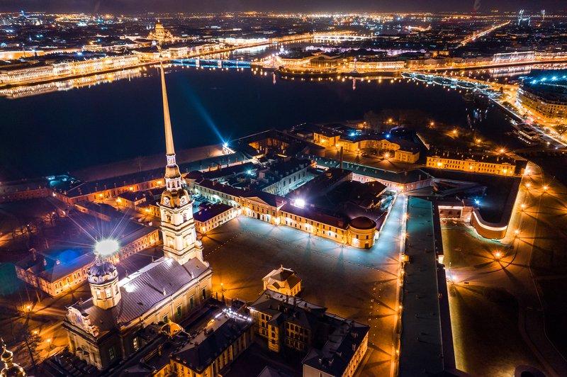 санкт-петербург, ночь, петро-павловская крепость, город, питер. ППК.photo preview
