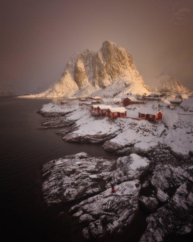 пейзаж, природа, море, норвегия, лофотены, hamnoy Hamnoy - accordionphoto preview