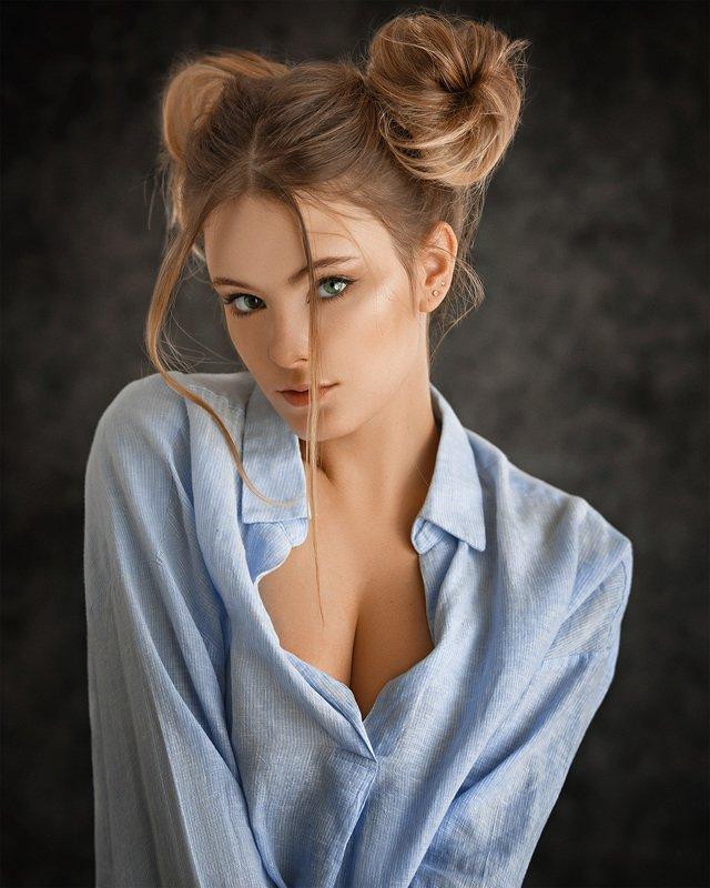 art, portrait, girl, model, арт, портрет, девушка, модель Ylia фото превью
