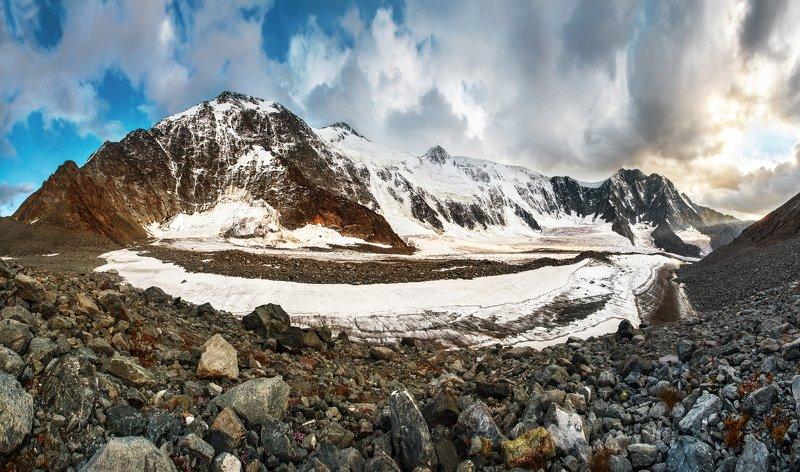 горы, Алтай, белуха, Томские стоянки, ледник Белухаphoto preview