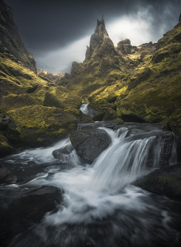 "#landscape #iceland #fineartphotography ""Thor's Land""photo preview"