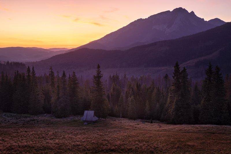 landscape nature nikon scenic, poland, tatry, sunrise, light, sun, colors Rusinowa Polana - Tatryphoto preview