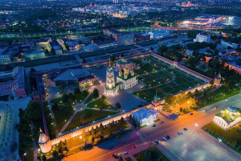 россия, тула, кремль, архитектура, город, аэрофото Тульский кремльphoto preview