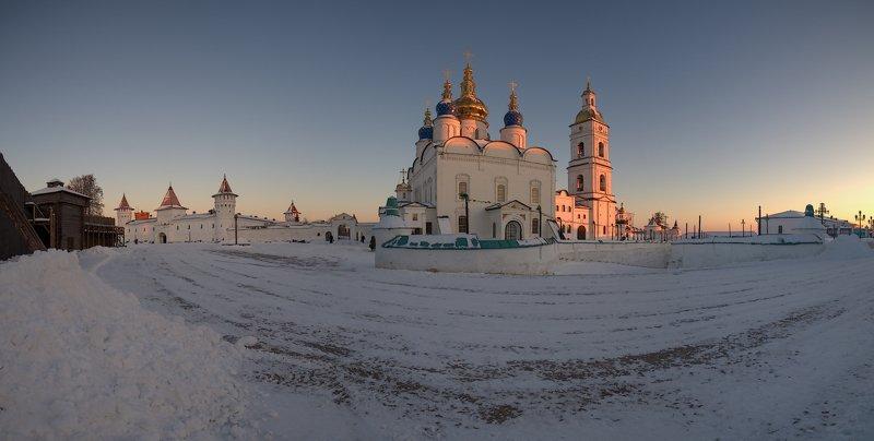 тобольский кремль, панорама, архитектура, православие Тобольский кремль.photo preview