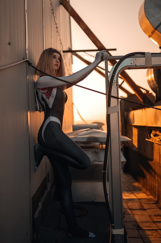 косплей, cosplay, человекпаук, spiderman Человек паук через вселенныеphoto preview