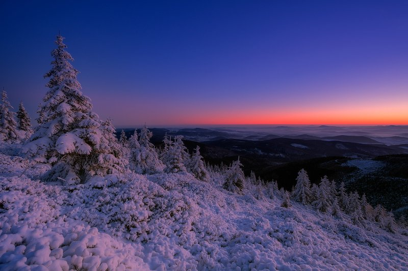 winter,mountains,canon,awakening The Frost Landscapephoto preview
