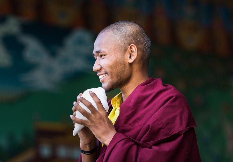 Буддийский монах. Индийский Тибетphoto preview