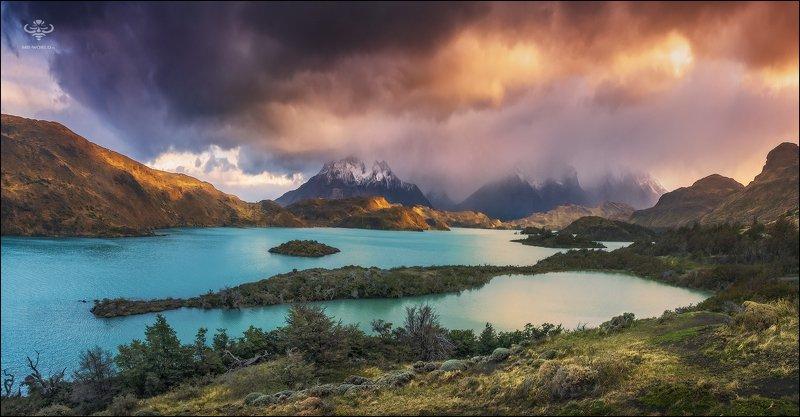 Чили, Патагония, пейзаж, рассвет Патагония - это сумасшедшее место! Рай для любителей природной красоты и пейзажной фотографии...photo preview