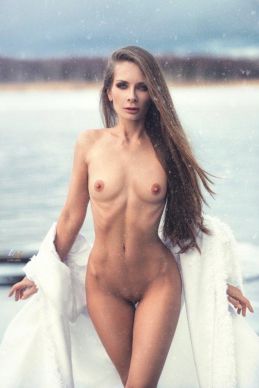 ню, пленэр, озеро, селигер, фотосессия, ню фотограф, фотограф, фотосессии в москве, lemarphoto, девушка, snow queen, nude Snow Queenphoto preview
