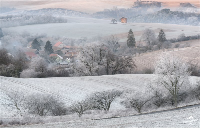 чехия, южная моравия, зима, рождество, czech, south moravia, Зимний сон ..photo preview
