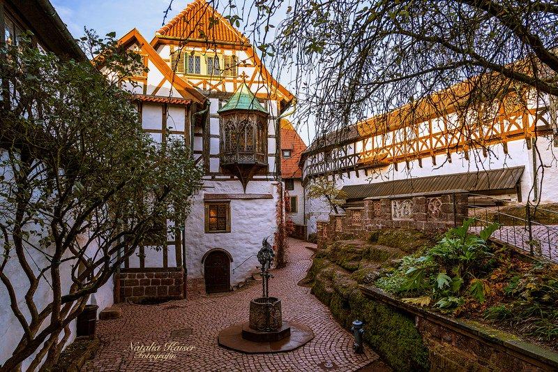 Замок Wartburg в Тюрингии, Германияphoto preview