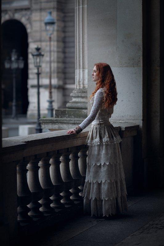 портрет, красота, девушка, арт Однажды в Парижеphoto preview