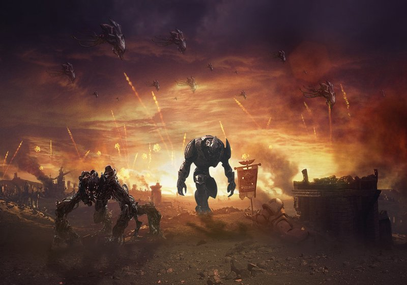 планета, пришельцы Война мировphoto preview