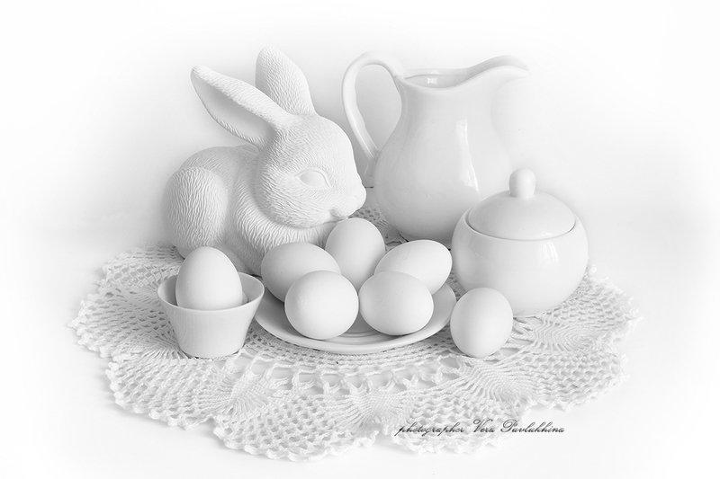 пасха,натюрморт,яйцо,заяц,праздник,вера павлухина, Пасхальныйphoto preview