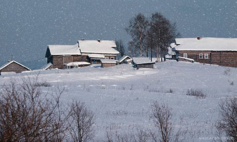 пейзаж тишина. снегphoto preview
