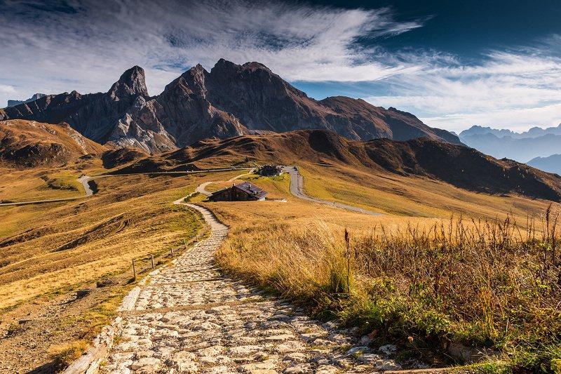 europe, mountains, italy, Passo Giauphoto preview