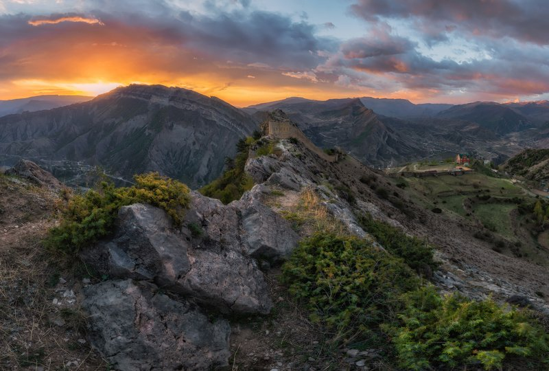 дагестан, кавказ Дагестан. Гунибское плато.photo preview