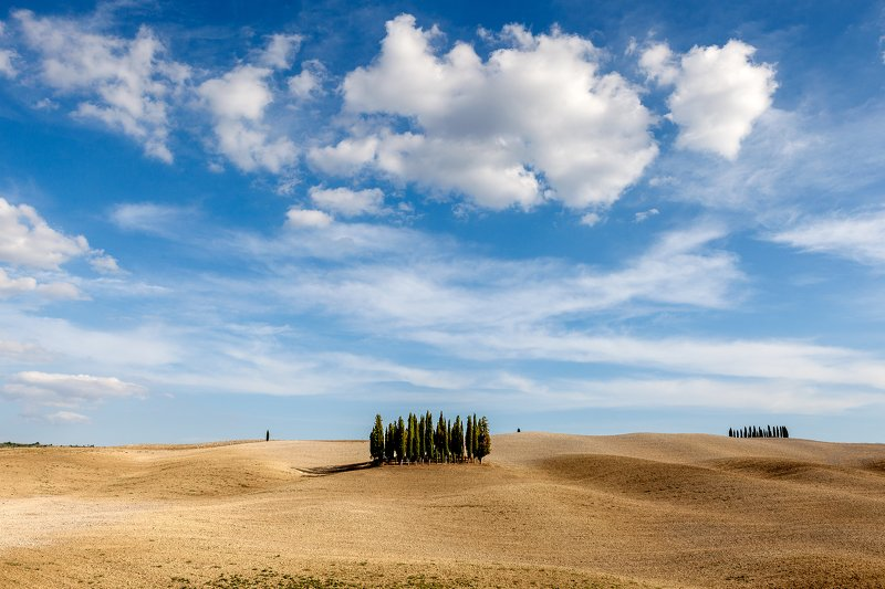 italy, tuscany, landscape, cloud, minimal Tuscany Dreamphoto preview