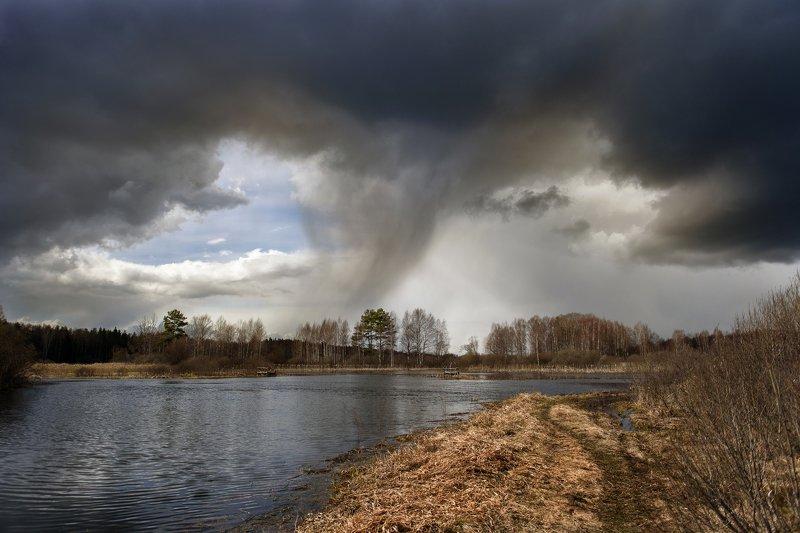 черные тучи, темные тучи, непогода, перед дождем photo preview