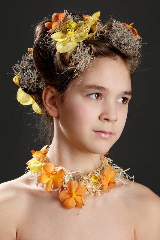 флористика, портрет Причёскаphoto preview