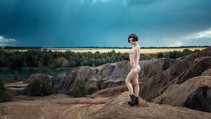 ню, портрет, арт, portrait, art, nude, model, imwarrior Полинаphoto preview