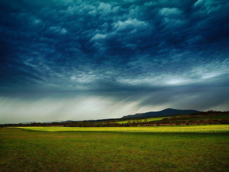 landscape, nature, naturephoto, naturephotography, photography, hungary, storm, clouds, fields, mycountry, spring Storm is commingphoto preview