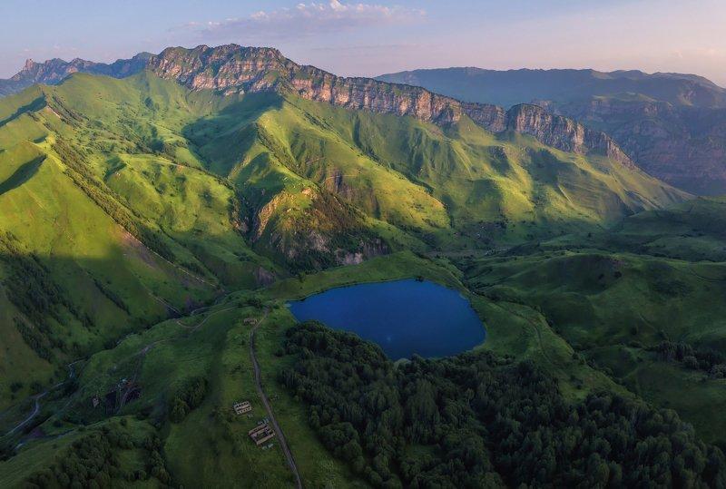 кавказ, чечня В горах Чечни.photo preview